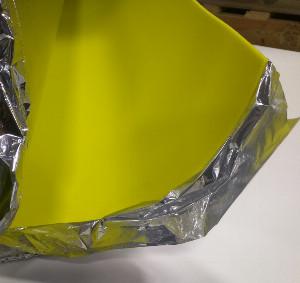 Sound Reduction Underlayment with moisture barrier
